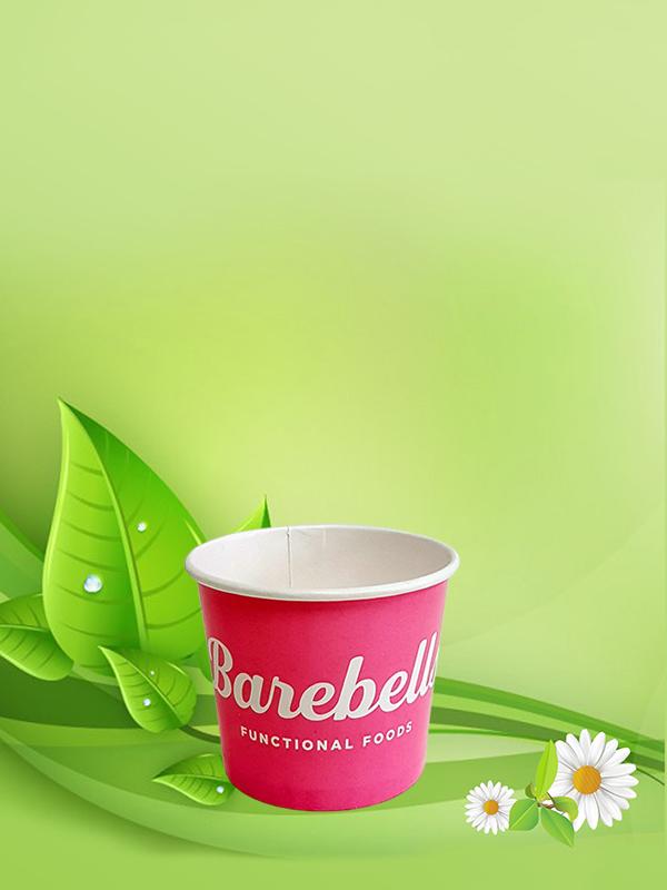 Картонена чаша за студени наптики 100 мл / 4 oz